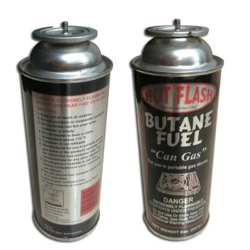 Factory price butane gas cartridge,empty butane gas canister net weight 220g