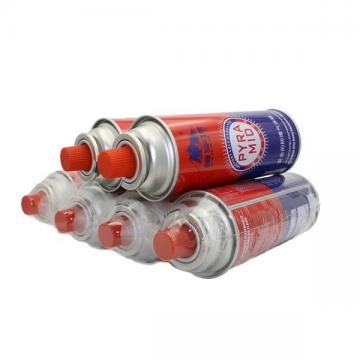 Wholesale China Manufacturer BBQ Cassette gas portable 227g Butane Gas Cartridge with CRV