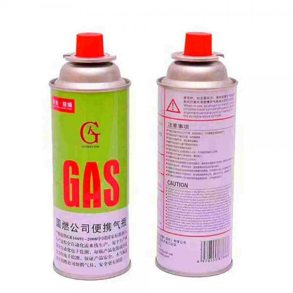 227g Round Shape Portable camping butane fuel can gas for portable gas stove #2 image