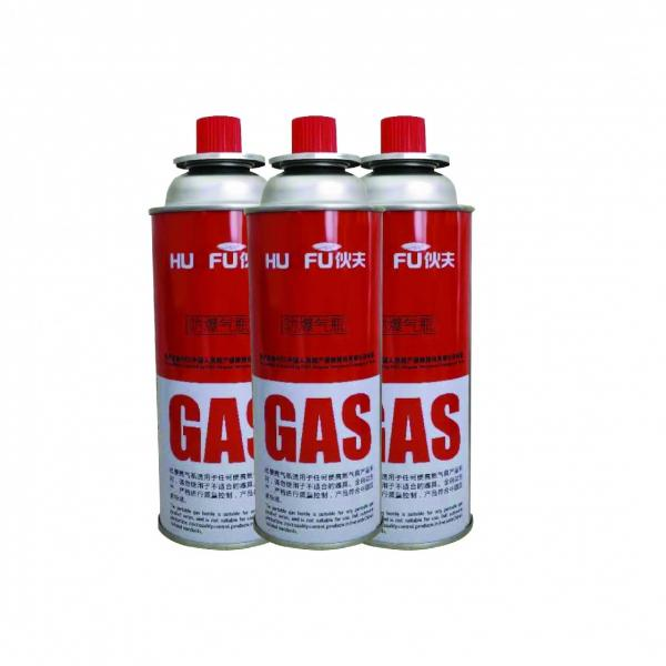 Butane Gas Aerosol Spray Steel Material and High Pressure butane Small empty gas cylinder size 500g filing lpg gas cylinder #1 image