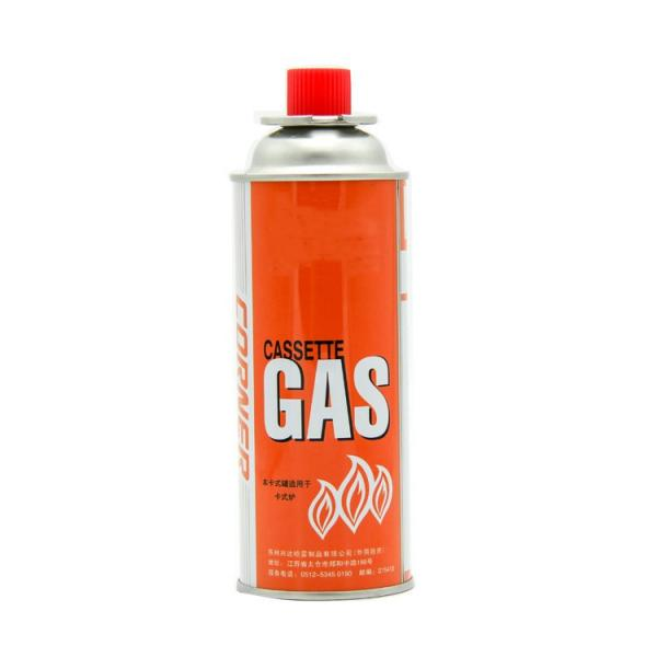 Net weight 220g aerosol butane gas cartridge refill  for camping stove #2 image