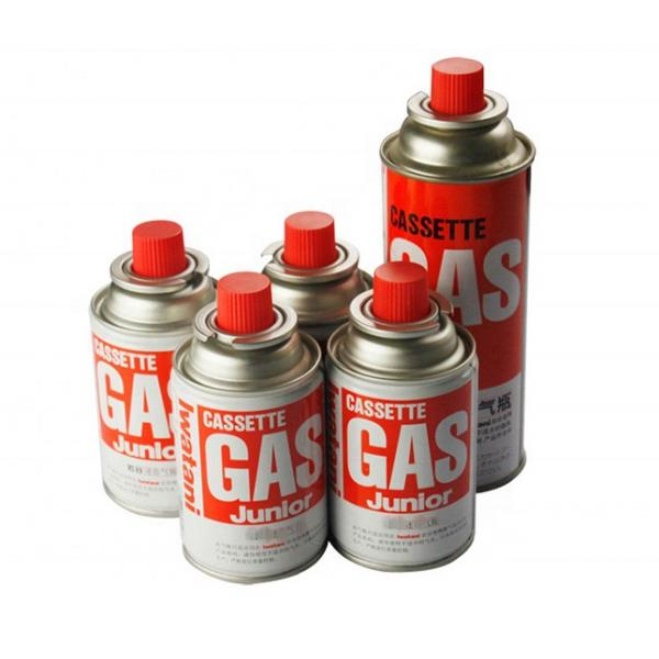 Net weight 220g aerosol butane gas cartridge refill  for camping stove #3 image